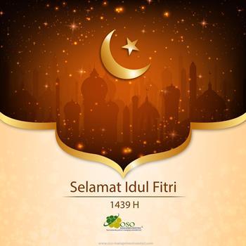 Selamat Idur Fitri 1 Syawal 1439 H
