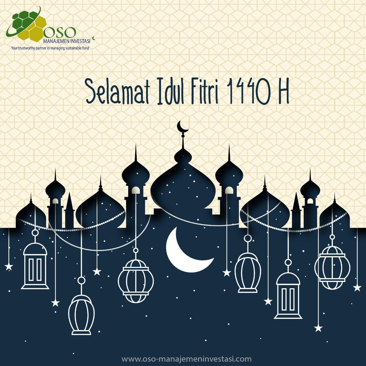 Happy Eid Al-Fitr 1 Syawal 1440 H